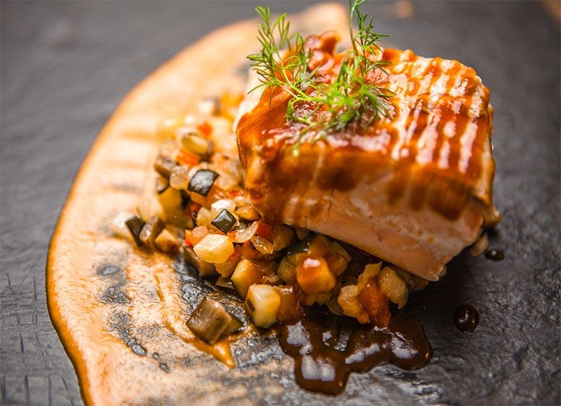 Salmon baja temperatuta cocina-de-autor-mediterranea-san-cugat
